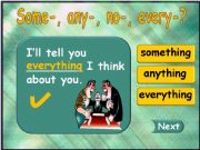 English powerpoint: Something - Anything - Everything - Nothing (part 3)