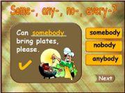 English powerpoint: Somebody - Anybody - Everybody - Nobody (part 2)