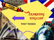 English powerpoint: Past Tenses Grammar Guide