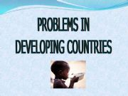 English powerpoint: Problems in developing countries/Ways to help them