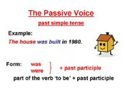 Esl passive voice upper intermediate
