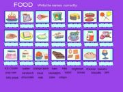 English powerpoint: Food vocabulary