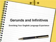 English powerpoint: Gerunds and Infinitives