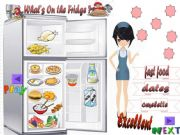 English powerpoint: What´s on the fridge?