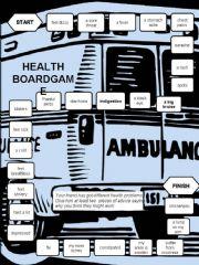 English powerpoint: Health-a boardgame -editable