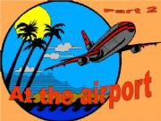 English powerpoint: At the airport - part 2 - Game