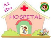 English powerpoint: At the hospital - Game