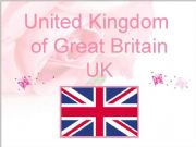 English powerpoint: the UK