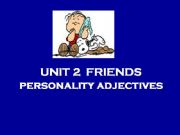 English powerpoint: Personality Adjectives