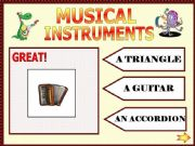 English powerpoint: Musical instruments part 2
