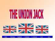 English powerpoint: The Union Jack