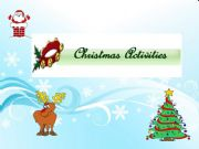 English powerpoint: Christmas Activity