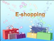 English powerpoint: e-shopping