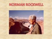 English powerpoint: How to present a slideshow about Norman Rockwell