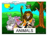 English powerpoint: Is it a...? (Wild animals)