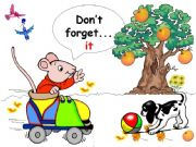 English powerpoint: Don´t forget...it.