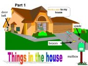 English powerpoint: Things in the House - Part 1
