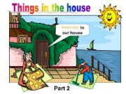 English powerpoint: Things in the House - Part 2