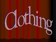 English powerpoint: Clothing
