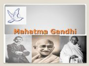 English powerpoint: Mahatma Gandhi