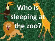 English powerpoint: Zoo Animals