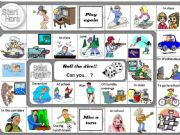 English powerpoint: game - can you + activities