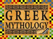 English powerpoint: GREEK MYTHOLOGY PART 1