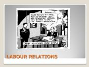 English powerpoint: Labour Relations