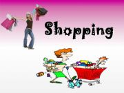 English powerpoint: Shopping - Conversation