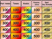 English powerpoint: Jeopardy Game Elementary o second year teeneagers