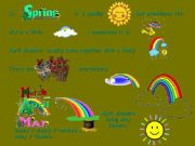 English powerpoint: Seasons and Weather