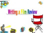 English powerpoint: Writing a Film Review