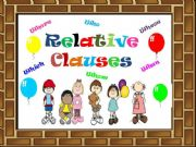 English powerpoint: Relative Clauses Game ( 20 Slides )