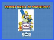 English powerpoint: Present simple or continuous game