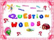 English powerpoint: Quesiton Words ( Game / 17 slides )