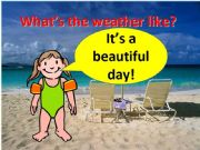 English powerpoint: The weather Part 1