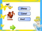 English powerpoint: Animals Game ( 2/ 3 )