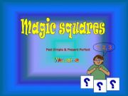 English powerpoint: Magic Squares