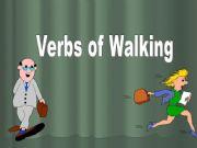 English powerpoint: Verbs of Walking