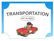 English powerpoint: Means of transportation