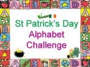 English powerpoint: St Patrick´s Day Alphabet Challenge
