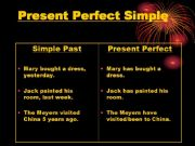 English powerpoint: Present Perfect and Progressive