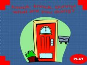 English powerpoint: Knock, Knock, Bunny! What are you doing? PART 1