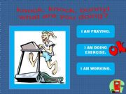 English powerpoint: Knock, Knock, Bunny! What are you doing? PART 2