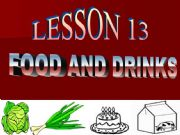 English powerpoint: Food and drink