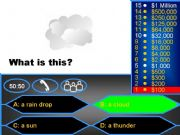 English powerpoint: PPT game: who will be the millionaire
