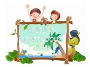 English powerpoint: Present Continuous Tense - Game