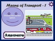 English powerpoint: MEANS OF TRANSPORT - GAME (1)