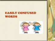 English powerpoint: Easily Confused Words