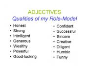 qualities of role model